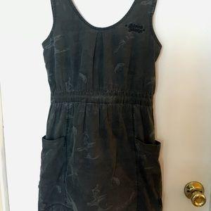 """Stussy """"Black Sheep"""" mini dress"""